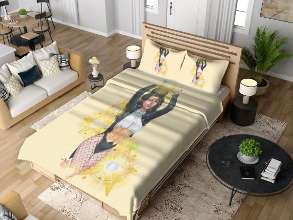 Zatanna DC Comics Seven Soldiers of Justice Bedding Set