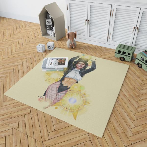 Zatanna DC Comics Seven Soldiers of Justice Bedroom Living Room Floor Carpet Rug